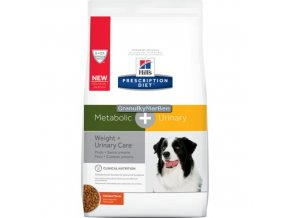 Hills canine diet metabolic and urinary