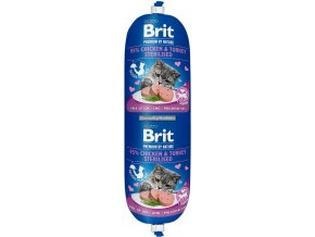 Brit Premium Cat Sausage Chicken Turkey Sterilised