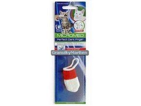 kartacek zubni micromed na prst kocka