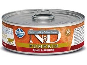 konzerva ND Feline Pumpkin Quail
