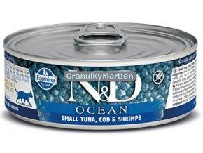 konzerva ND Feline Ocean Tuna Cod