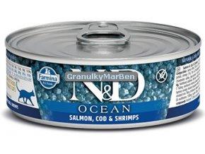 konzerva ND Feline Ocean Salmon