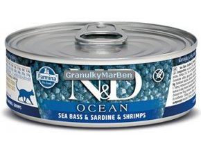 konzerva ND Ocean Sea Bass Sardine