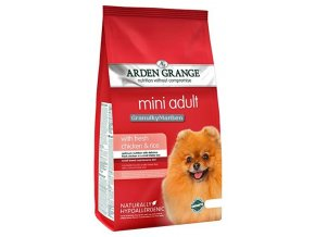 arden grange dog adult mini chicken rice