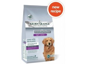 arden grange dog light senior sensitive