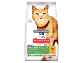 hills feline adult 7 youthful vitality chicken