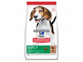 Hills sp canine puppy medium lamb