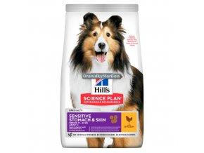 Hills sp canine adult sensitive stomach skin