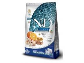 ND Ocean Canine Adult Medium Maxi Codfish Spelt Oats