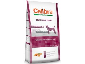 Calibra Dog Grain Free Adult Large Breed Salmon