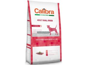 Calibra Dog Grain Free Adult Small Breed Duck