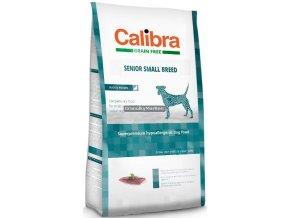 Calibra Dog Grain Free Senior Small Breed Duck