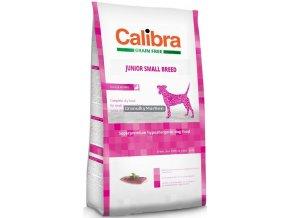 Calibra Dog Grain Free Junior Small Breed Duck