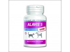 alavis 5 mini pro psy a kocky 60 tbl