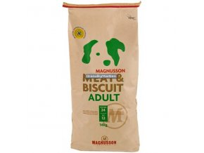 Akce Magnusson Meat and Biscuit Adult 14kg
