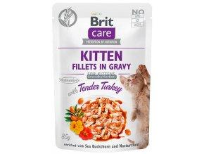 kapsicka Brit Care kitten turkey