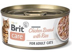konzerva Brit Care cat chicken rice