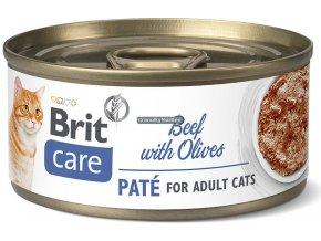 konzerva Brit Care cat beef olives