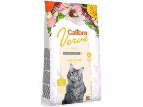 Calibra cat verve sterilised chicken turkey