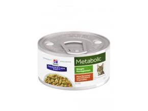 hills prescription diet feline metabolic chicken stew 82g