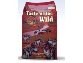 Akce Taste of the Wild Southwest Canyon Canine 12,2kg