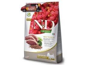 nd quinoa adult neutered adult mini