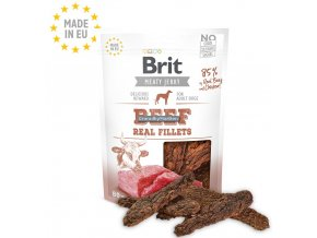 Brit Meaty Jerky Beef Real Fillets