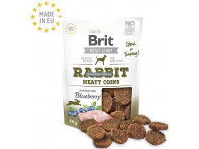 Brit Meaty Jerky Rabbit Meaty Coins