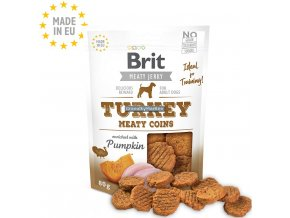 Brit Meaty Jerky Turkey Meaty Coins