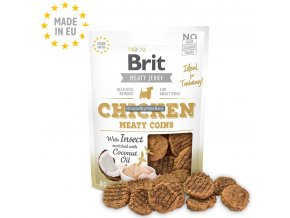 Brit Meaty Jerky Chicken Meaty Coins