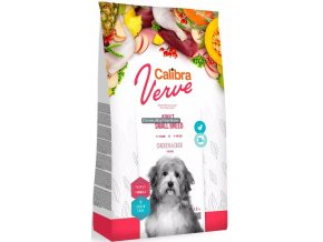 calibra dog verve adult small breed chicken