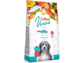 calibra dog verve adult small breed salmon