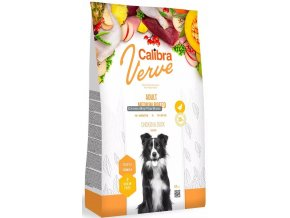 calibra dog verve adult medium breed chicken