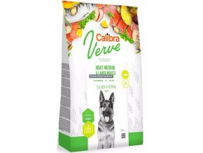 calibra dog verve adult medium large breed salmon