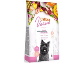 calibra dog verve senior small breed chicken