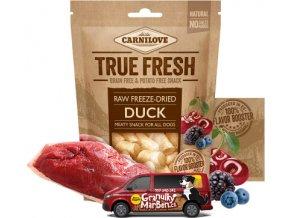 Carnilove True Fresh Freeze Dried Snack Duck