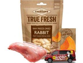 Carnilove True Fresh Freeze Dried Snack Rabbit