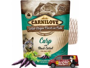 Kapsicka Carnilove Carp with black carrot