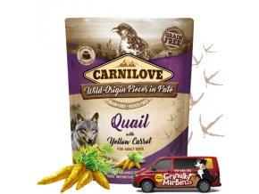 Kapsicka Carnilove Quail yellow carrot