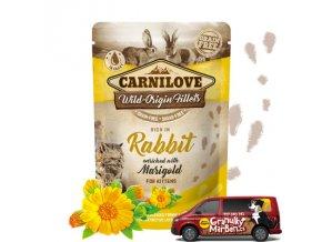 Carnilove Cat Pouch Kitten Rabbit