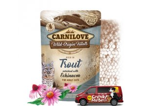 Carnilove Cat Pouch Trout