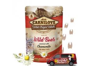 Carnilove Cat Pouch Wild Boar