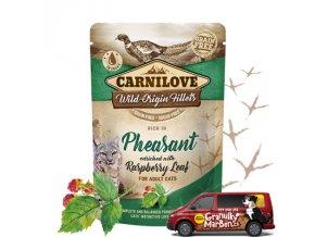 Carnilove Cat Pouch Pheasant