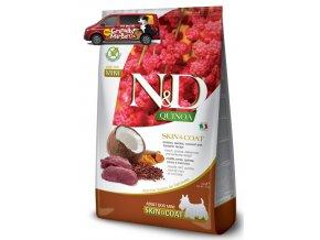 nd quinoa adult mini venison