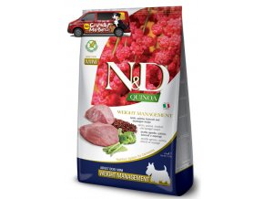 nd quinoa adult mini weight management