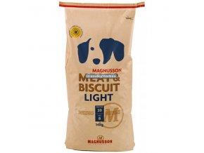 Magnusson Meat and Biscuit Light 14kg roztržený obal