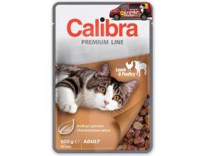 Calibra Cat kapsa Premium Adult lamb poultry