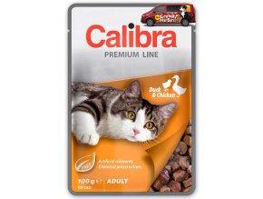 Calibra Cat kapsa Premium Adult duck chicken