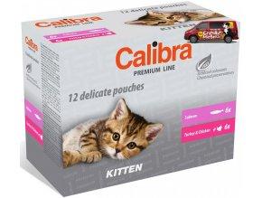 Calibra Cat kapsa Premium Kitten multipack