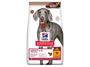 sp canine science plan no grain large breed adult chicken